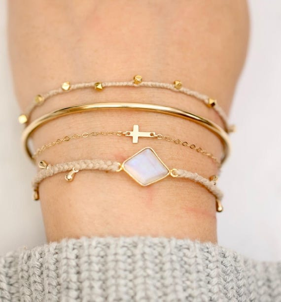 Small Cross Bracelet Cross Bracelets Gold Cross Bracelet  911362366
