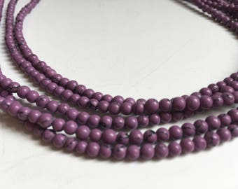 Sugilite Necklace (Bead Collection)