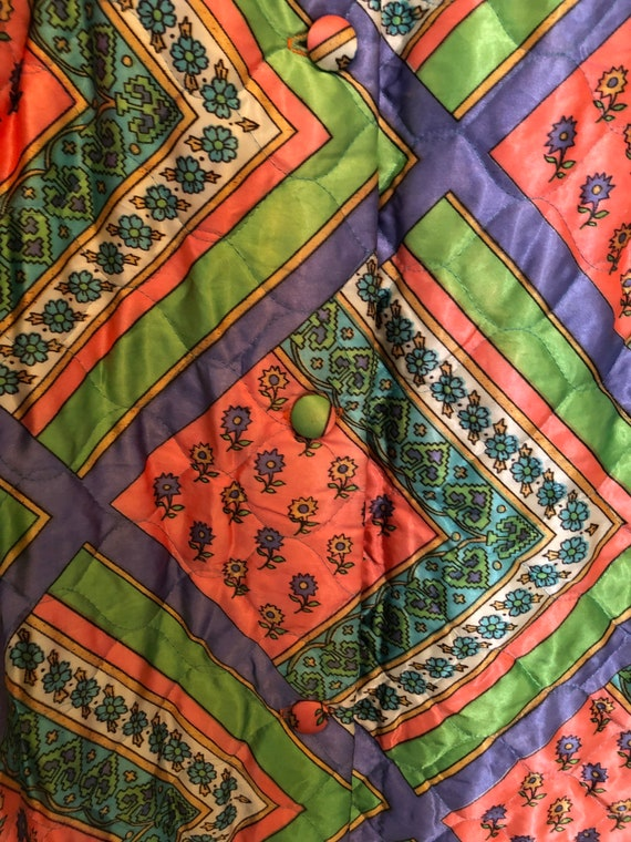 Vintage quilted skirt - image 5