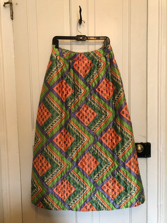 Vintage quilted skirt - image 4