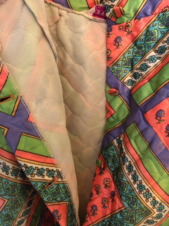 Vintage quilted skirt - image 8