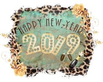 Happy New Year 2019 Etsy