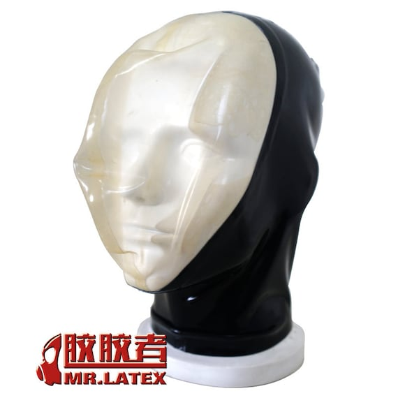 Latex hood with rebreathers