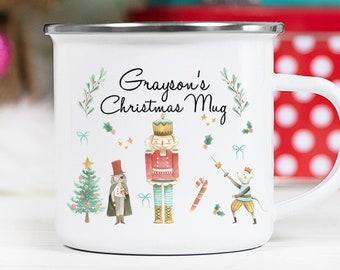 Personalized Holiday Gift - Christmas Mug - Nutcracker - Hot Chocolate Mug - Christmas Gift For Kids - Personalized Gifts - Kid Mug - Boys