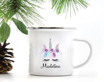 Personalized Unicorn Campfire Mug