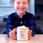 Personalized Holiday - Stocking Stuffer - Kids Christmas Mug - Kids Hot Chocolate Mug - Personalized Mug - Christmas Gift for Kids