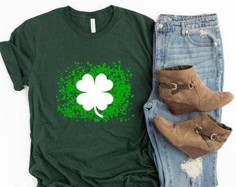Women's St. Patrick's Day Shirt - St. Paddy's Shirt - St. Patty's - Shamrock Shirt - Men's - TShirt -  Mommy and Me Set - Matching Set