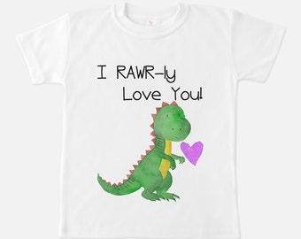 Dinosaur Shirt - Boys T-shirts - Dino Shirts - Dinosaur Gifts - Gifts for Boys - T-rex shirt - Toddler clothing - Dino Outfit