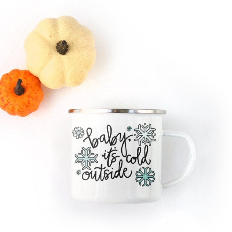 Baby It's Cold Outside  Holiday Party  Christmas Mug  image 0