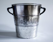 Superb Moët Chandon advertising champagne bucket cooler.