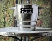 Vintage champagne bucket DELBECK