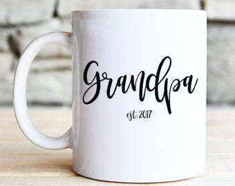 Grandpa Mug - Grandfather Mug - Gift for Grandpa - Pregnancy Reveal - Grandpa to be Gift - Father's Day Gift - Father's Day - Husband