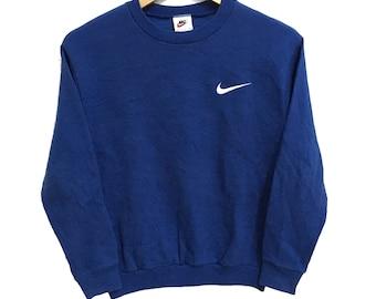 7353809387928 Nike sweatshirt blue   Etsy