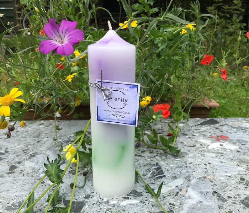 Serenity Pillar Candle image 0