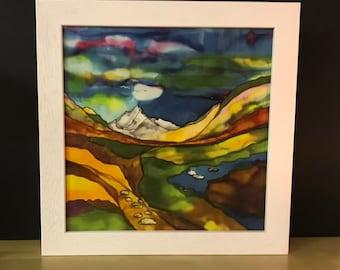 Glen Rosa, Framed Ceramic Tile