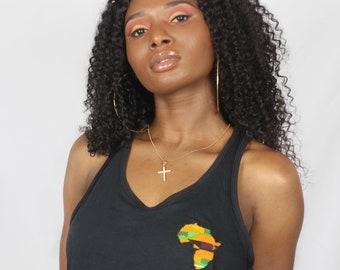 ILENILE Africa women's tank top