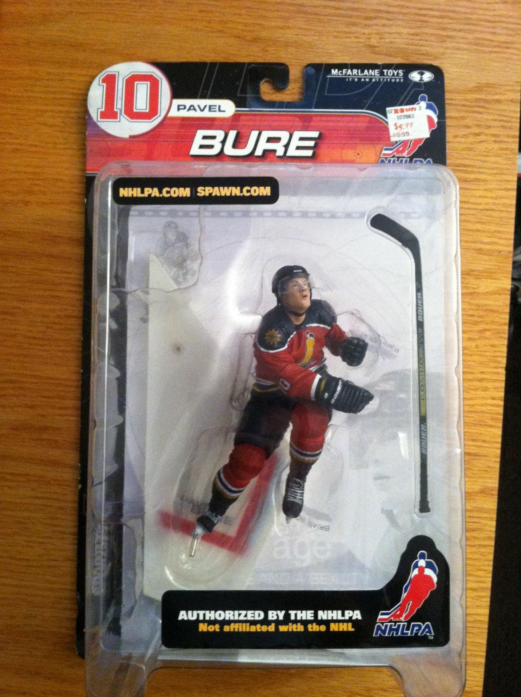 Pavel Bure 2000 McFarlane Series 2 Action Figure NEW