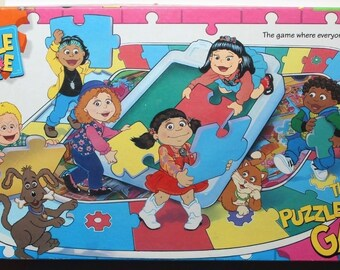 The Puzzle Place Board Game 1995