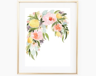 Peony Bouquet INSTANT DOWNLOAD
