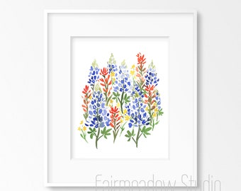 Bluebonnet Bouquet - INSTANT DOWNLOAD