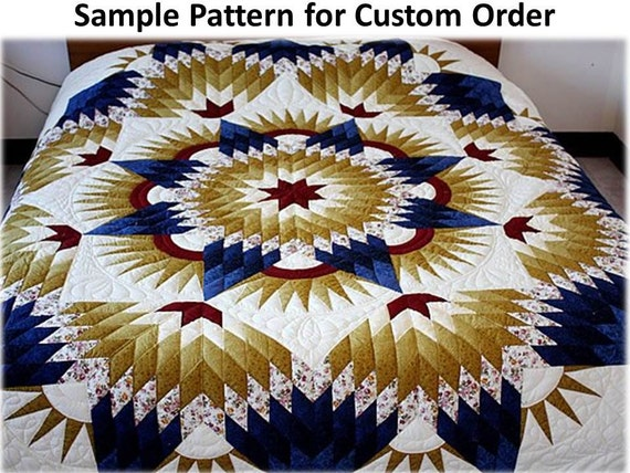 Broken Star Quilts Queen King Size Homemade Quilts Amish