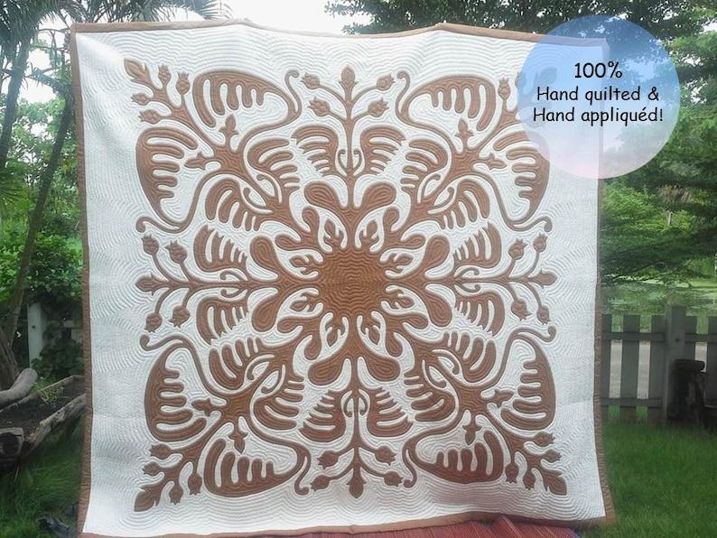 Poakalani hawaiian quilt design loewe