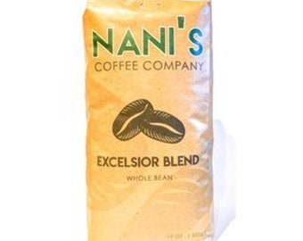 Nani's Coffee Company, Micro Roasted Coffee, Excelsior Blend