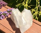 7.0 oz Clear Quartz Crystal Cluster Mined in Arkansas Display, Reiki, Meditation Feng Shui Decor, Fast Free Shipping Feng Shui