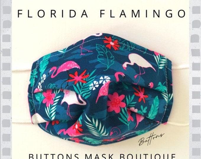 Flamingo  Face Mask - Anti Fog Face Mask - Face Mask for Glasses