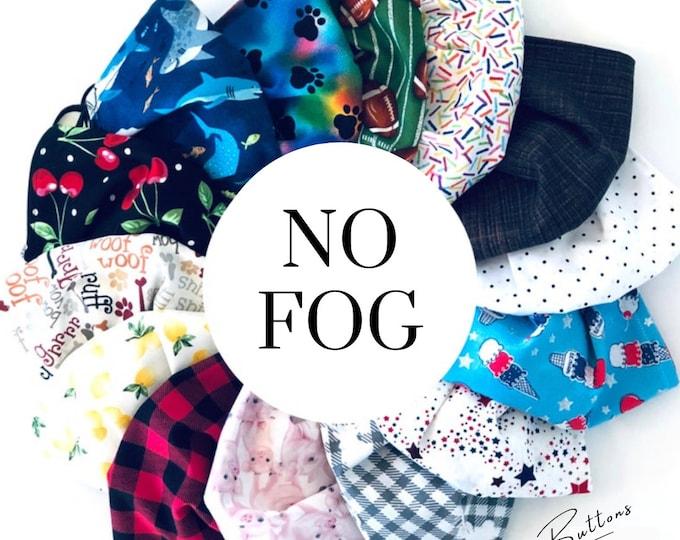 Fun Face Mask - Anti Fog Face Mask - Nose Wire - Filter Pocket - Anti Fog - Mask for Glasses -  Adult Face Mask - Kids Face Mask