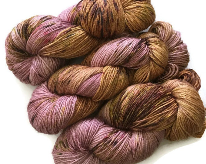 New base - Fingering - Merino, bamboo and Nylon - 115g - wool hand dyed
