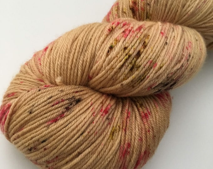 Hand dyed Fingering Merino Wool and Nylon-