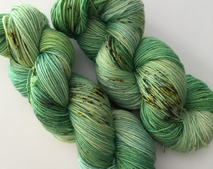 Hand dyed Fingering Merino SW cashmere wool and Nylon-