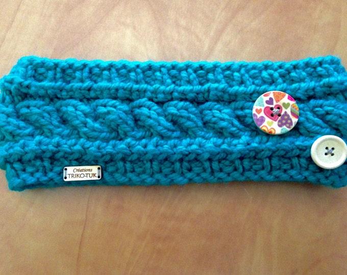"CLEARANCE headband kids knit, 100% acrylic, model ""Anna"""
