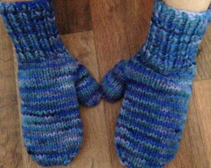 PATRON FRANÇAIS mitaines de base tricot enfant 3 à 6 ans