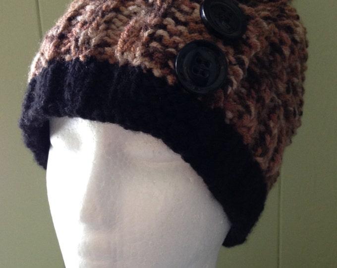"Hat woman ""slouchy"" 100% Acrylic"