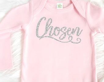 1b68e5940cc5e Adoption shirt - Adoption tee - Baby Adoption Bodysuit - Adoption t-shirt -  Adoption baby girl tee - Infant Newborn Adoption Gift - T-shirt