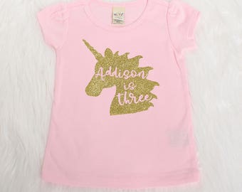 6th Birthday Shirt Personalized Girl