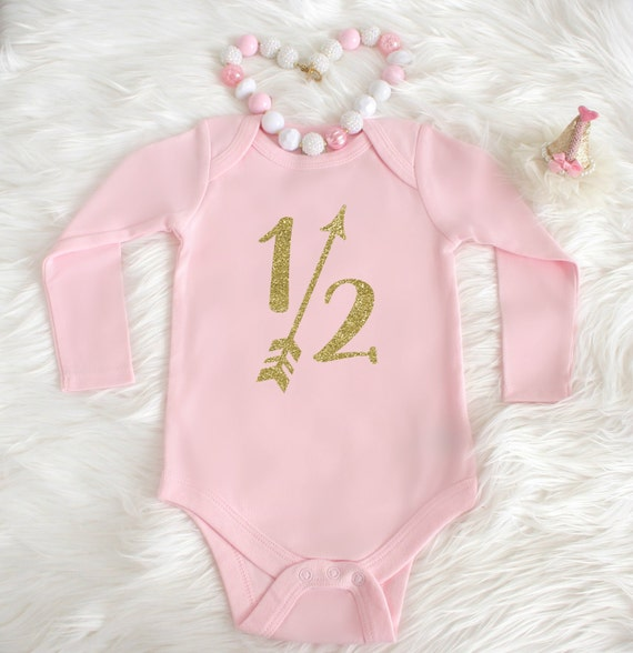 5dea16b0f8533 Half birthday outfit 6 month birthday outfit 1 2 Birthday
