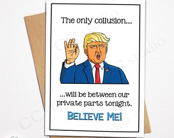 Funny Trump Card BestsellingTrump Birthday CardSuggestive CardTrump Anniversary CardsTrump Lover HaterCards For Him Her Husband Wife