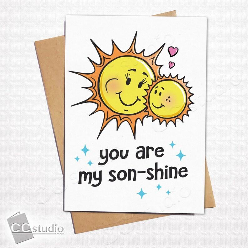 You Are My Sonshine Sunshine Son Birthday