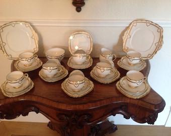 Royal Albert tea set Art Deco