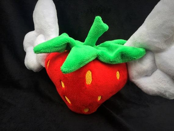 Erdbeere Plushie Spielzeug Angelberry einzigartige Kinder