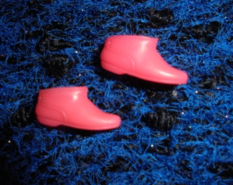 Francie / 1960s Boots / Vintage / pink / new