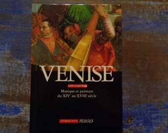 Art book+CD Venise 14e -18e/Art painting and music/90s/80 pages
