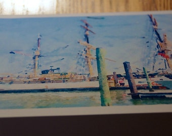 Tall Ships Photo Note Cards  (Set of 6 cards and envelopes)