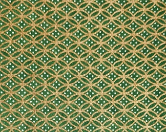 Green washi origami paper | Etsy