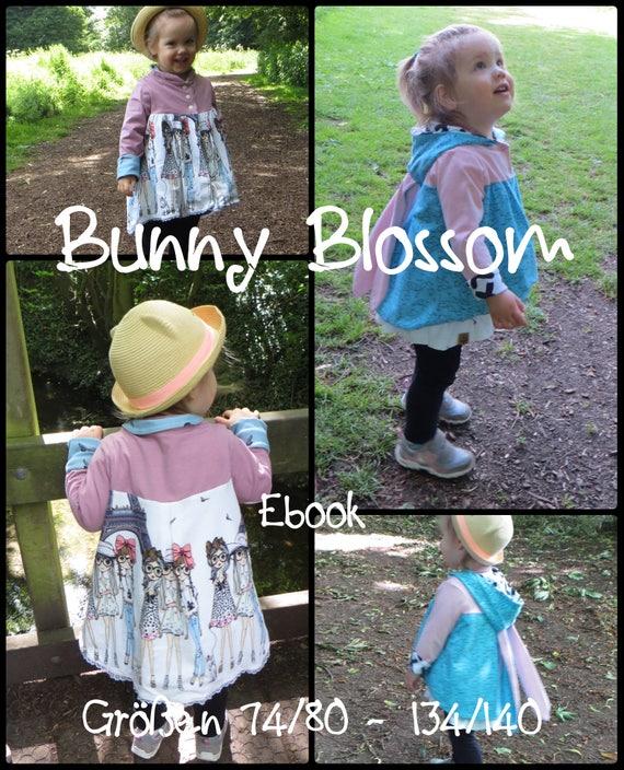 Bunny Blossom Jacke Doppelgrößen 74/80 134/140 Ebook pdf | Etsy
