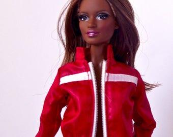 Barbie clothes - Barbie jacket Barbie pants, Doll clothes, Barbie leggins