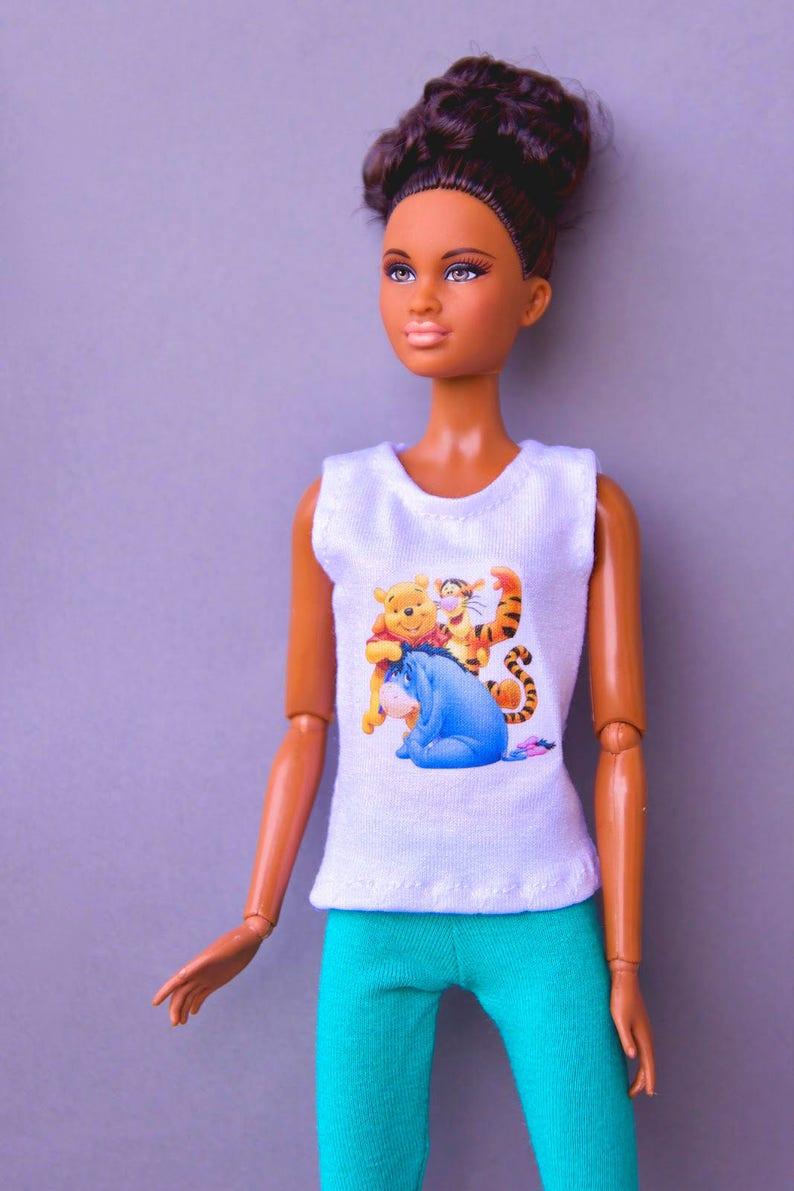 7ed7ddfb96a Vêtements Barbie Barbie chemise   Barbie pantalon